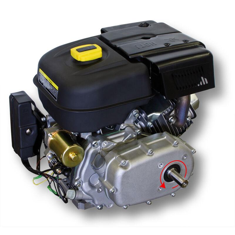 Wiltec LIFAN 177 Motore a Benzina 6,6 kW 9 CV 270 CCM con Frizione a Bagno d/´Olio e riduzione 2:1 E-Start