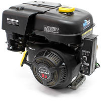 LIFAN 177 Petrol Gasoline Engine 6.6kW (9Hp) 270ccm with wet clutch gearbox 2:1 electric starter