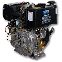LIFAN 186 Diesel Engine 7.2kW (10Hp) 25mm with alternator E-Start 418ccm