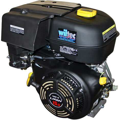 LIFAN 188 Benzinmotor 9,5 kW 13 PS 25 mm 390 ccm mit Handstarter