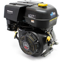 """LIFAN 190 petrol gasoline engine 10.5kW (14.3HP) 0.9"""" (25mm) air-cooled single cylinder recoil start"""