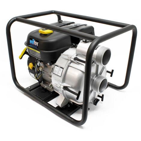"""LIFAN Benzin Schmutzwasserpumpe 66m³/h 30m 4.8kW 6,5PS 89mm 3,5"""" Gartenpumpe"""