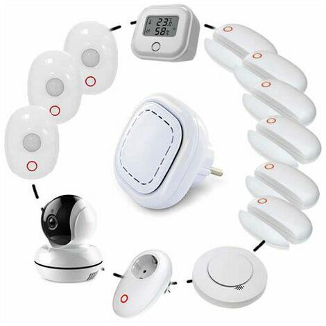 Lifebox Smart Alarme Sans Fil Connectée Kit Smart06
