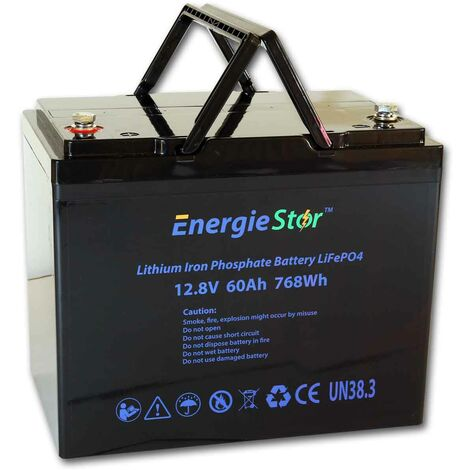 LiFePo4 60Ah Lithium Battery 12.8V