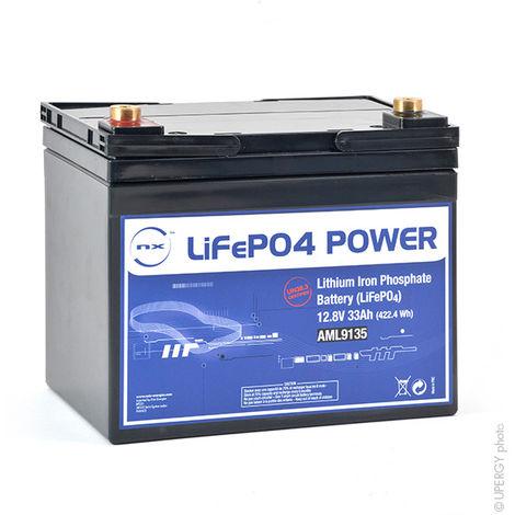 LiFePo4 Akku NX LiFePO4 POWER UN38.3 (409.6Wh) 12V 33Ah M6-F