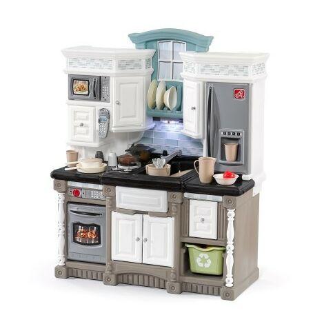 Lifestyle Dream Kitchen Cuisine Enfant en Plastique   Jeu / Jouet Cuisine pour Enfants avec Kit d'accessoires de 37 Pièces
