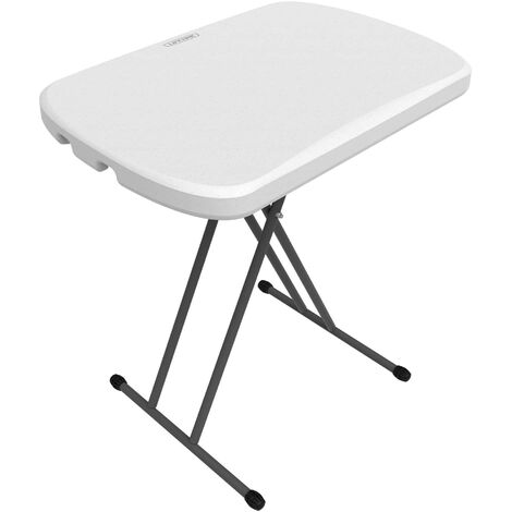 Lifetime 26-Inch Personal Table (Light Commercial) - White