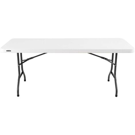 Lifetime 6-Foot Folding Table (Commercial) - Almond