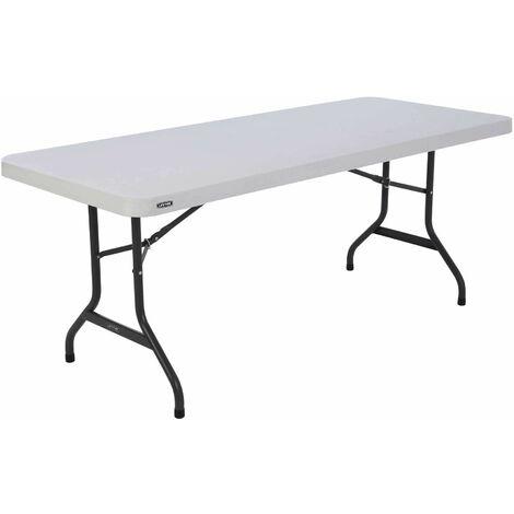 Lifetime 6-Foot Folding Table (Commercial) - White Granite