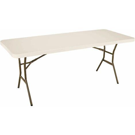 Lifetime 6-Foot Folding Table (Light Commercial) - Almond