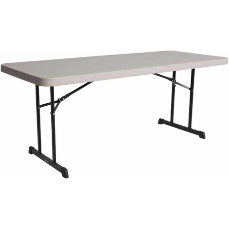 Lifetime 6-Foot Folding Table (Professional) - Putty