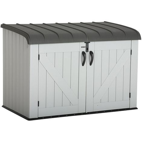 Lifetime 6x3.5 Plastic Storage Unit