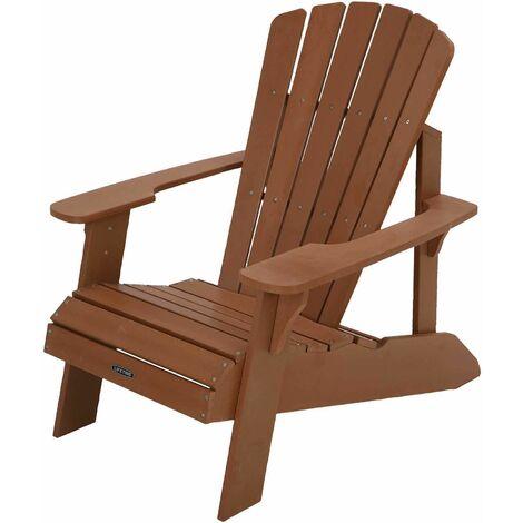 Lifetime Adirondack Chaise, Marron, 98 x 52,7 x 93,7 cm
