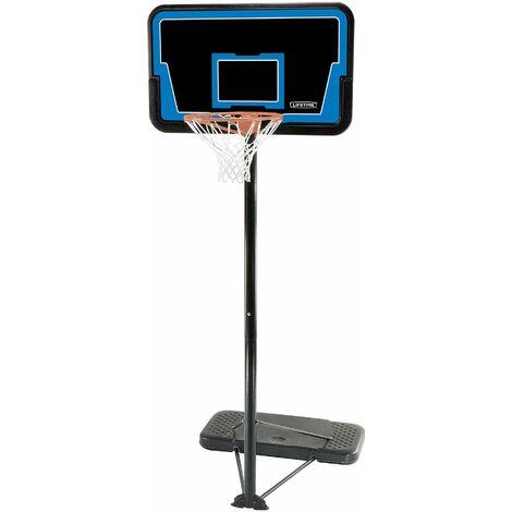 Lifetime Adjustable Portable Basketball Hoop (44-In Impact) - Blue