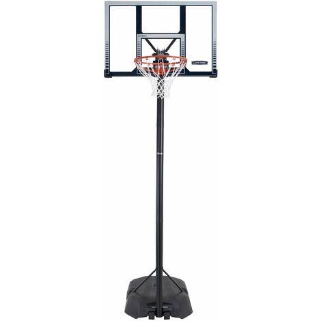 Lifetime Adjustable Portable Basketball Hoop (44-Inch Polycarbonate) - Black