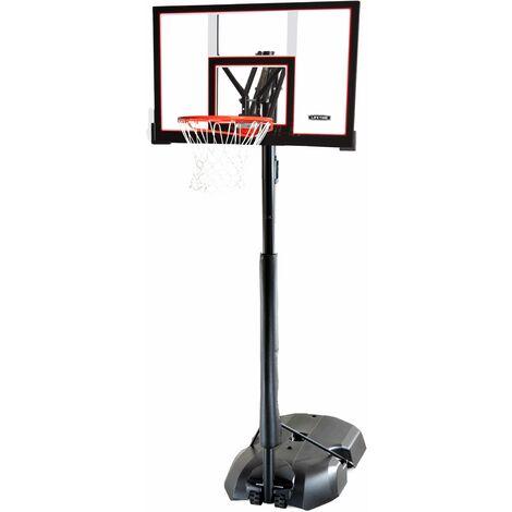 Lifetime Adjustable Portable Basketball Hoop (48-Inch Polycarbonate) - Black