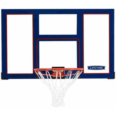 Lifetime Basketball Backboard and Rim Combo (48-Inch Polycarbonate)