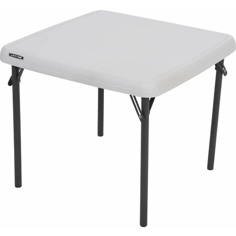Lifetime Childrens Square Table (Essential) - Almond