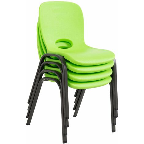 Lifetime Childrens Stacking Chair - 4 Pk (Essential)