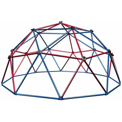 """main image of """"Lifetime Climbing Dome, Red and Blue"""""""