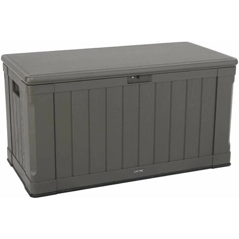 Lifetime Outdoor Storage Deck Box (116 Gallon) - Brown