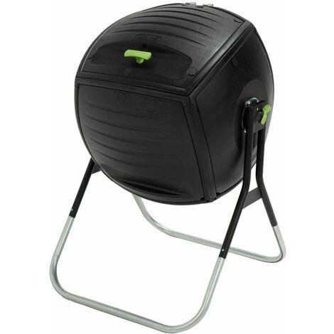 Lifetime Rotating Composter (50 gallon) - Black