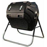Lifetime Rotating Composter (80 gallon) - Black