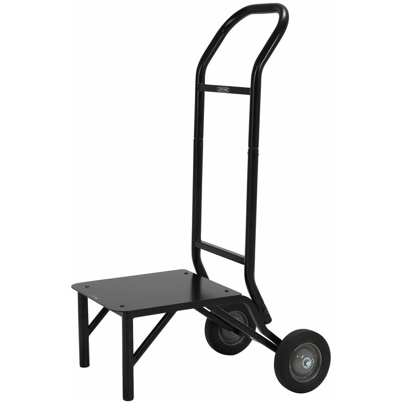 Image of Stacking Chair Dolly - Black - Lifetime