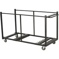 Lifetime Table Cart - Black