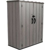 Lifetime Vertical Storage Shed (53 cubic feet) - Roof Brown