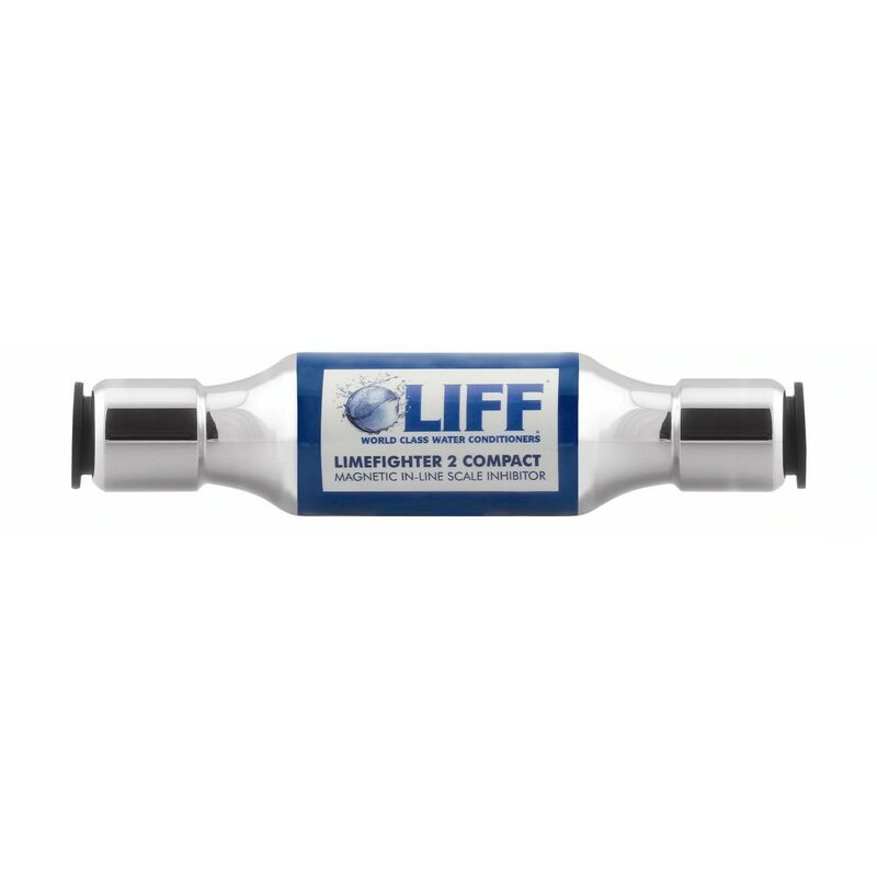 Image of Limefighter Compact Inline Magnetic Scale Reducer Inhibitor 22mm Push Fit - Liff