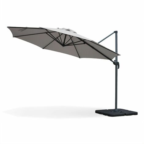 "main image of ""Round cantilever parasol - 350cm - Biscarosse"""