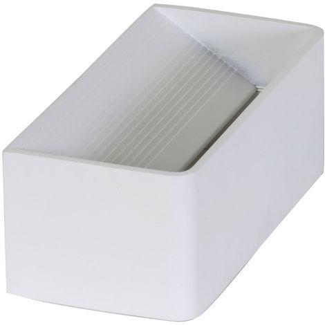 "Light & Living 3114009 - bracket lamp wall LED 7W ""DIKO"" - 20x10x8cm - white Mat"