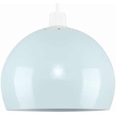 Light Shades Ceiling Pendant Lampshades Metal Various Colours - Blue