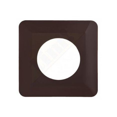 """main image of """"Light switch socket finger cover plates surround edge - brown colour"""""""