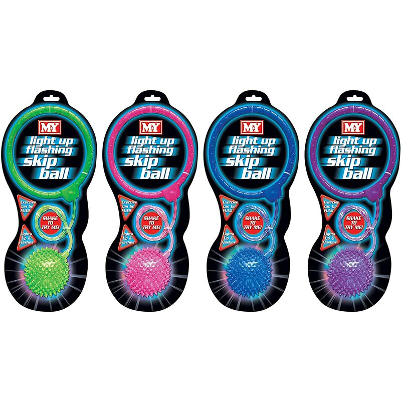 Image of MY - Light Up Flashing Ankle Skip Ball (One Supplied)
