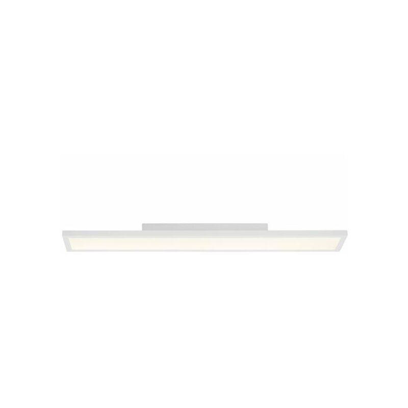 LED Deckenleuchte dimmbar, LED Panel 90x15cm, Dimmfunktion per Fernbedienung, 30 Watt, 2700-6500 Kelvin, Metall/Kunststoff in weiß-'LB00000529'
