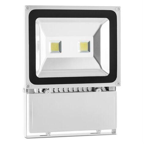 Lightcraft Alphalux Foco LED blanca 100 W luz exterior gris