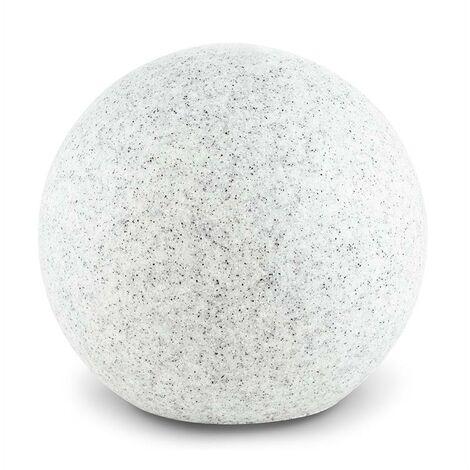 Lightcraft Shinestone S Lampe de jardin ronde 20cm Style pierre