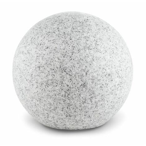 Lightcraft Shinestone XL Globe Lamp Outdoor Garden Light 50cm Stone Look