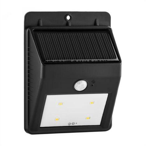 Lightcraft Solarlux Lámpara solar exterior 4 LED blanca inalámbrica
