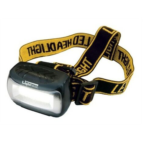 Lighthouse HL-H0530 Wide Beam Headlight 120 Lumens