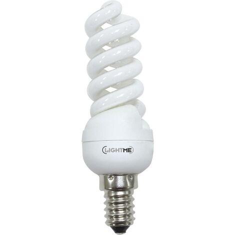 LightMe Energiesparlampe EEK: A (A++ - E) E14 104mm 230V 11W Warmweiß Spiralform 1St. S46028