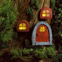 Lightware Solar Powered Fairy Door & Windows