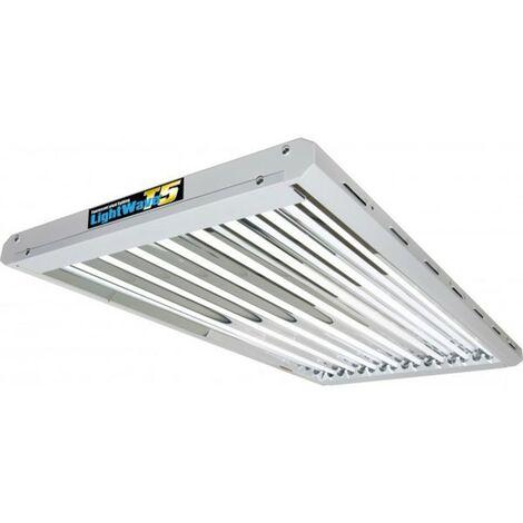 LIGHTWAVE rampe néons T5 432 W 4 X 8 TUBES CROISSANCE