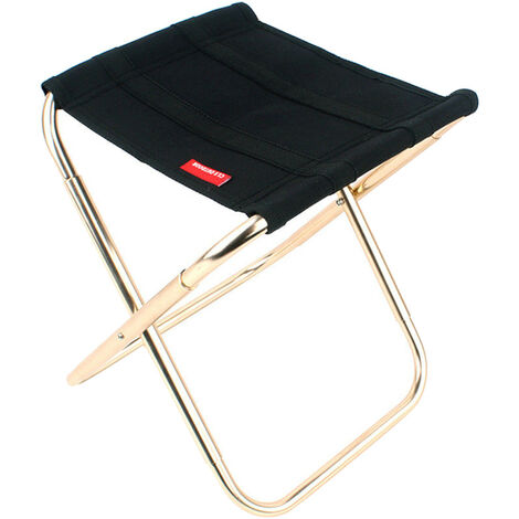 Lightweight and portable folding camping chair
