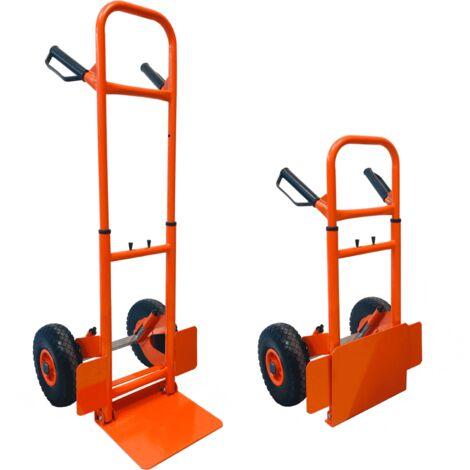 Wózki dwukołowe Firma i Przemysł HAND SACK TRUCK LIGHTWEIGHT TROLLEY FOLDING COMPACT 150KG PORTABLE DOLLY