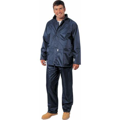 Lightweight Men's Navy Rain Trousers