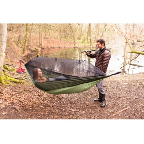 Lightweight Moskito-Traveller Thermo Hammock Ideal for Camping
