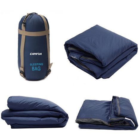 Lightweight Waterproof Outdoor Camping Sleeping Bag 4 Seasons Hiking Mattress